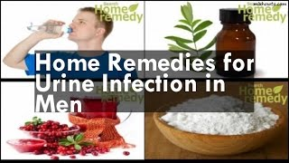 Home Remedies for Urine Infection in Men