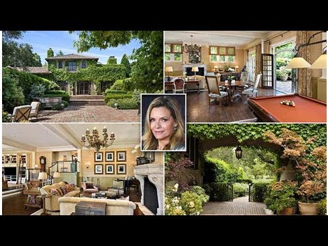 Michelle Pfeiffer puts her dreamy $29.5million San Francisco mansion complete with pool, spa and ...