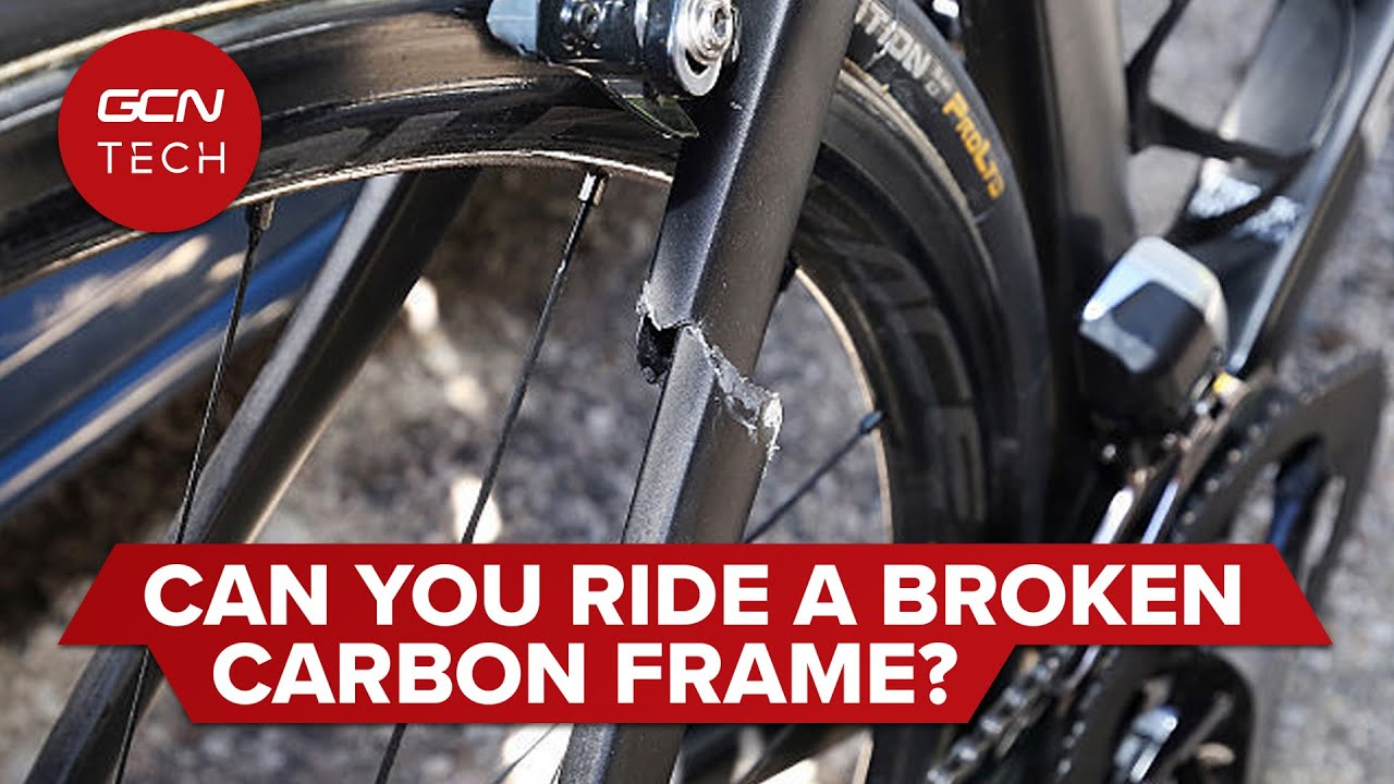 Can Carbon Fibre Bike Frames Be Repaired?   Is It Safe To Ride A Broken Carbon Frame?