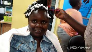 FIRST SALON EXPERIENCE|MARINI NATURALS|SURA NZURI Vlog 001