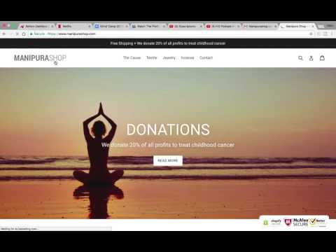 Jewelry and Yoga Shopify Store Review