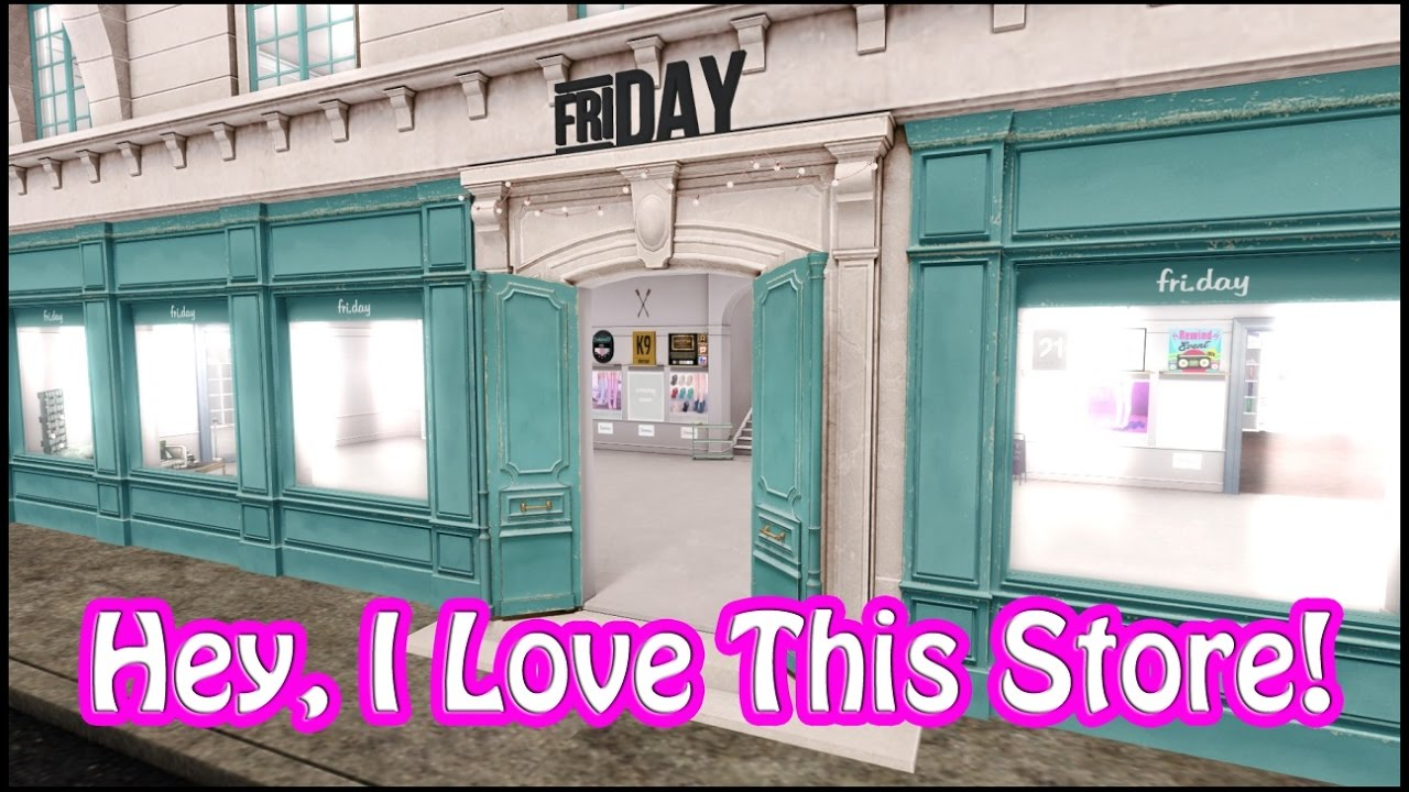 Second Life Store Hey I Love This Store Fri Day In Second Life