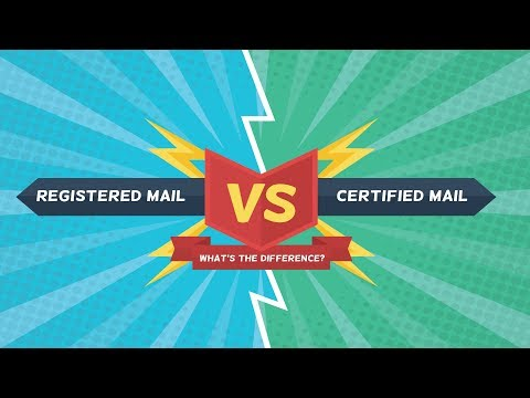 The Difference Between Registered & Certified Mail