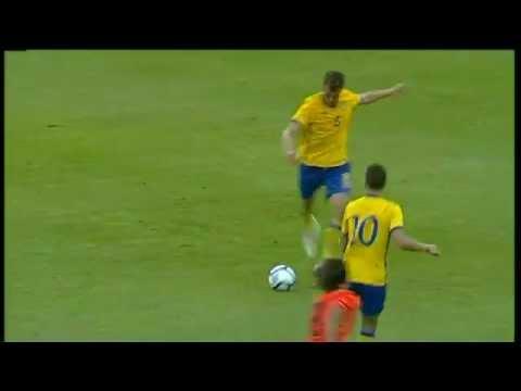 Sverige U21 - Holland U21 : Jakob Johansson gör 1-0 (2011-08-10)