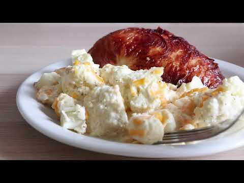 cheesy-cauliflower-casserole- -keto-recipe