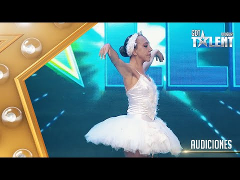 PERLA cumplió su sueño y bailó BALLET en un escenario