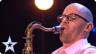 Time for a sax-off with saxophone star Michael! | Auditions | BGMT 2018
