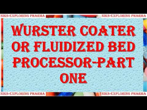 WURSTER COATER IN PHARMACEUTICAL INDUSTRY