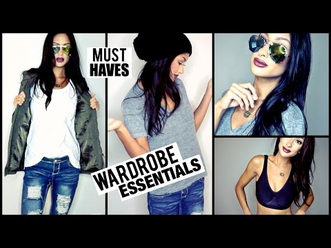 Wardrobe MUST HAVES Staple Items you NEED