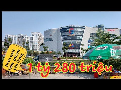 Bán Nhà quận Thủ Đức| mặt tiền hẻm Phạm Văn Đồng ,1 tỷ 280 triệu ,Hiệp Bình Chánh Thủ Đức