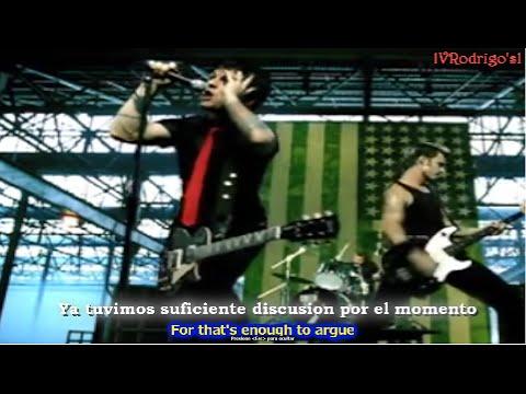Green Day  American idiot Lyrics y Subtitulos en Español