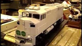 go f59ph in process (scale model build)
