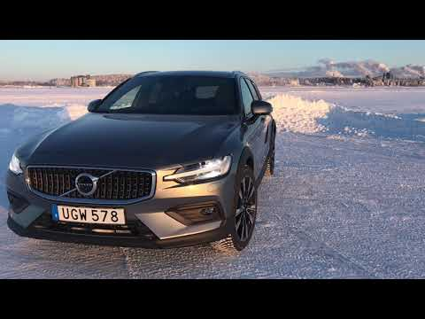New 2019 Volvo V60 Cross Country Winter Test Drive