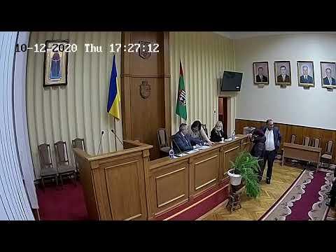 CHV.TV: Сесія Глибоцької районної ради від 10 грудня  2020