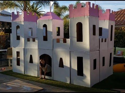cool-diy-homemade-kid-sized-cardboard-castle