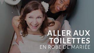 Aller aux toilettes en robe de mariée [Dentelle TV #23]
