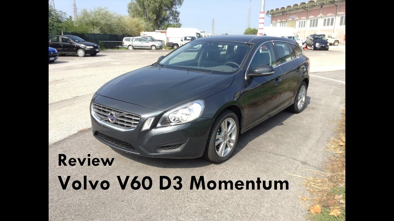 2012 volvo v60 d3 review revisione volvo v60 d3 youtube. Black Bedroom Furniture Sets. Home Design Ideas