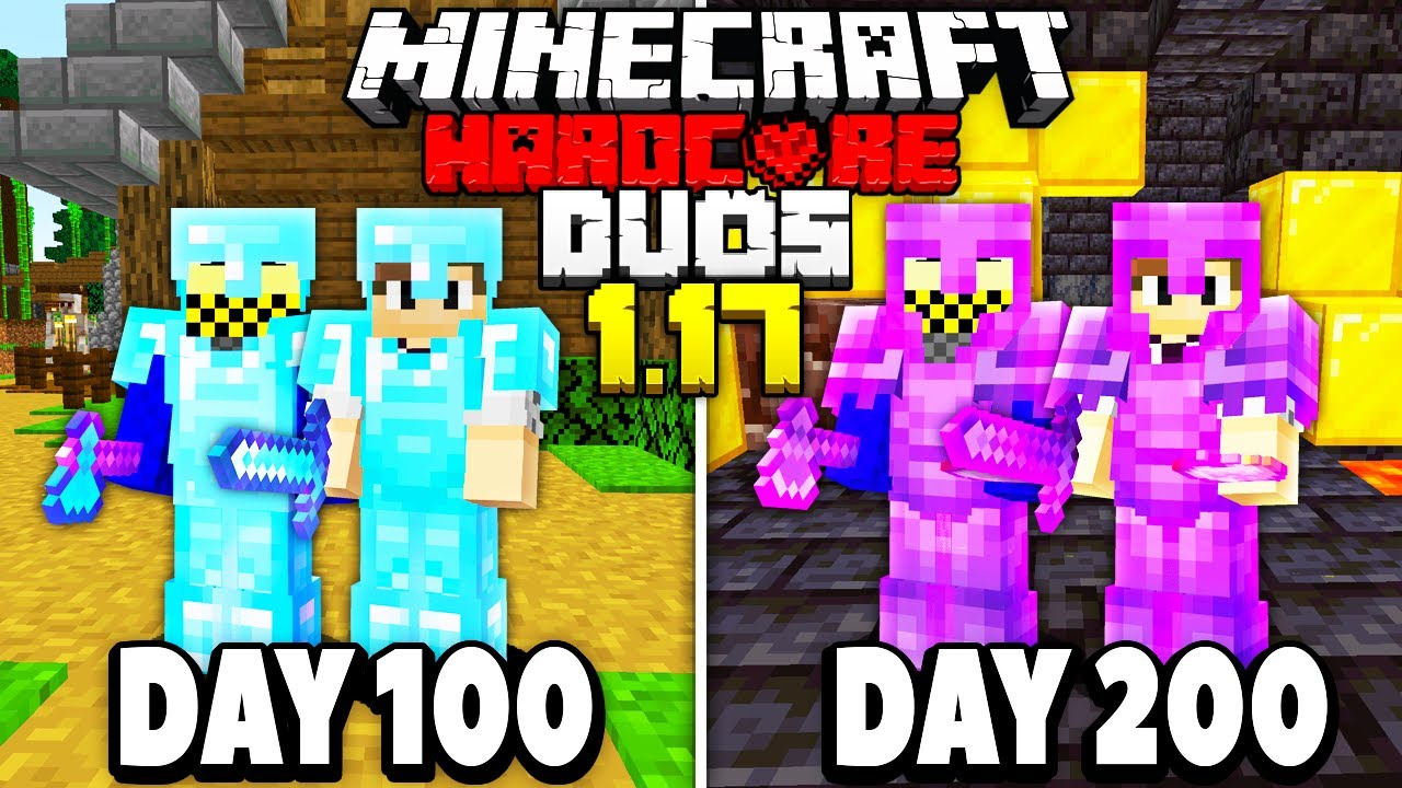 I Survived 200 Days in 1.17 Duo's HARDCORE Minecraft...