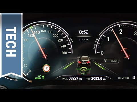 Digitaler Tacho Im 5er BMW 2018 Im Detail (Multifunktionales Instrumentendisplay) Review