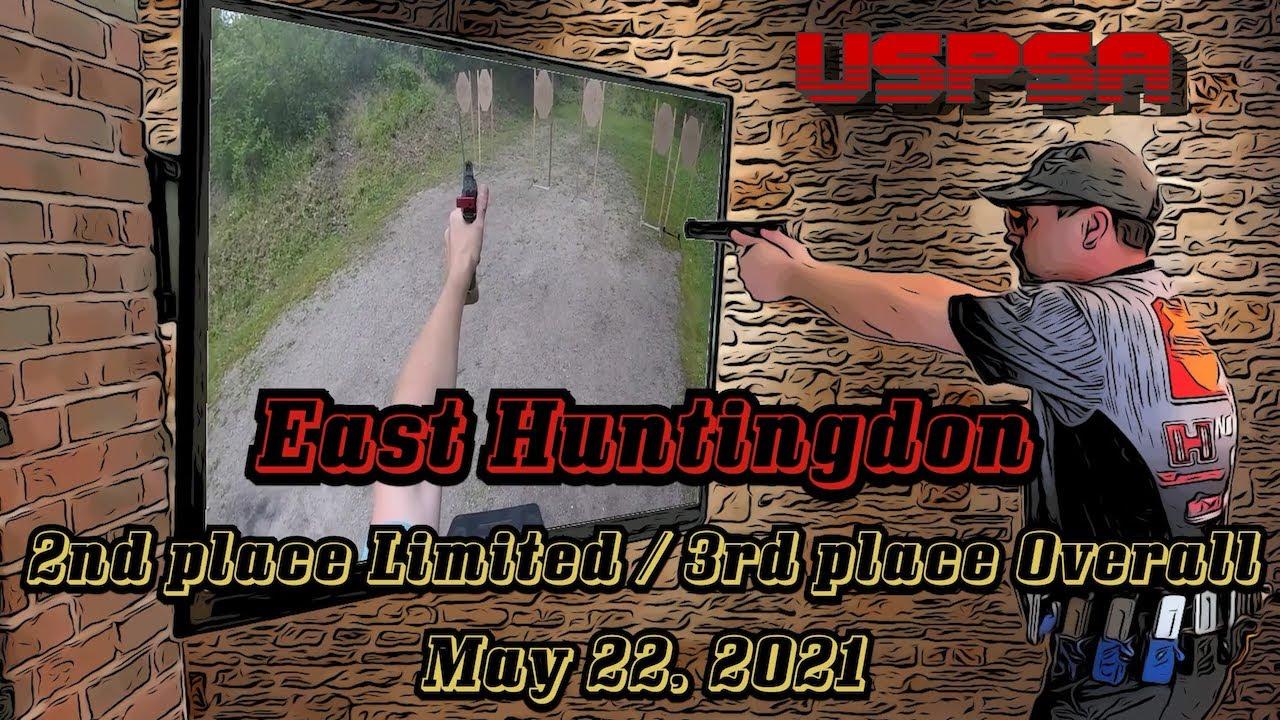 USPSA @ East Huntingdon - May 2021 - Limited