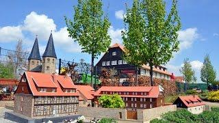 """Miniaturenpark """"Kleiner Harz"""" im Bürgerpark Wernigerode lud zum Modellbaufest ein"""