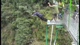 Bungee jumping in nepal    hell out of a adventure kurt