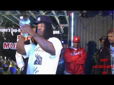 Mic Murdaraz TV Presents Flatline Cypher : Flint/Detroit Feat. Money Up, StackAlmighty & Anubis