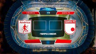 AMÉRICA DE CALI vs INDEPENDIENTE SANTA FE ¡EN VIVO! Fecha 7 #LigaBetPlayDimayor