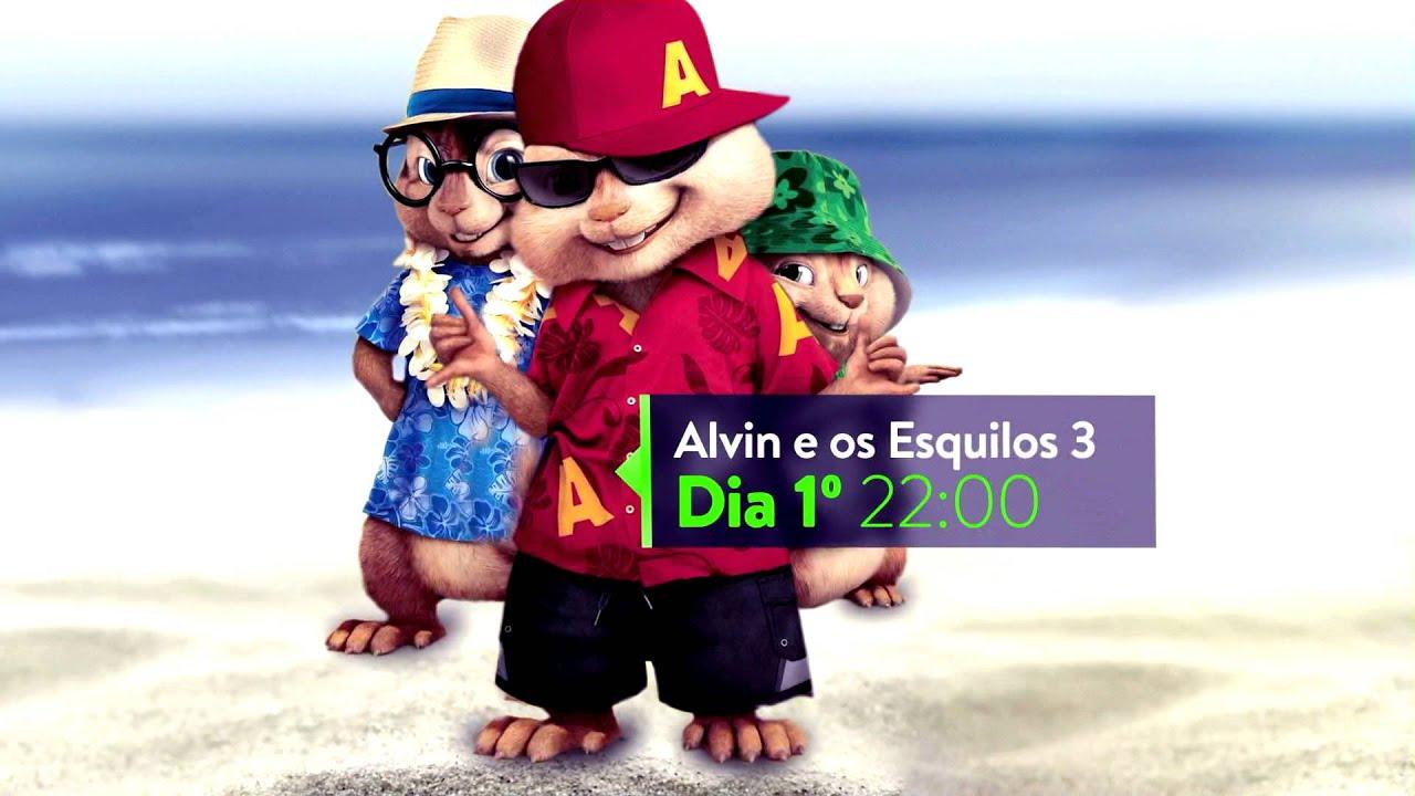 Sessao Megapix Alvin E Os Esquilos 3 Youtube