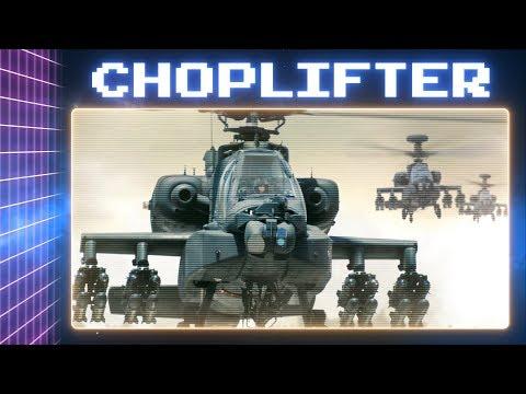 Você já jogou Choplifter? - Press Start To Play