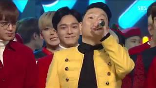 "PSY - ``'DADDY''"" Ft.CL of 2NE1 [Live @ 1220 SBS Inkigayo : NO.1 OF THE WEEK] 