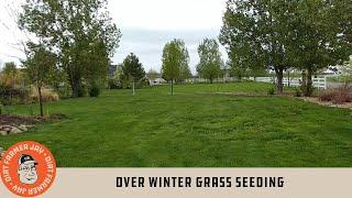 Over Winter Grass Seeding