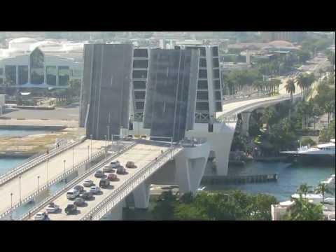 Ft Lauderdale Bridge opening and closing