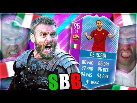FIFA 18: ST De Rossi 95 SQUAD BUILDER BATTLE vs Nohandgaming