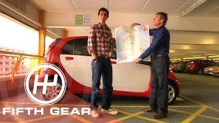 Fifth Gear Mitsubishi i Miev Road Trip смотреть