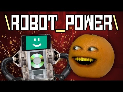 Annoying Orange  ROBOT POWER! Original Sg