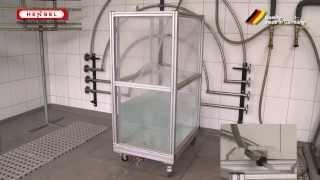 Wasserprüfung: zeitweiliges Untertauchen / Test for protection against water - temporary immersion