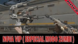 CROSSFIRE / NOVA VIP  AN-94 Knife-Spaceship ( ESPECIAL MODO ZUMBI )