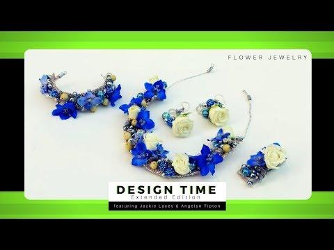 Wire Work for Flower Jewelry