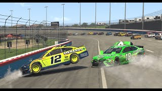 Gambar cover Kyle Busch, Ryan Blaney cause the 'Big One' at Texas | iRacing eNASCAR Pro Invitational Series
