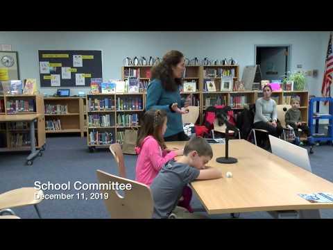 Mashpee School Committee Meeting 12 11 19