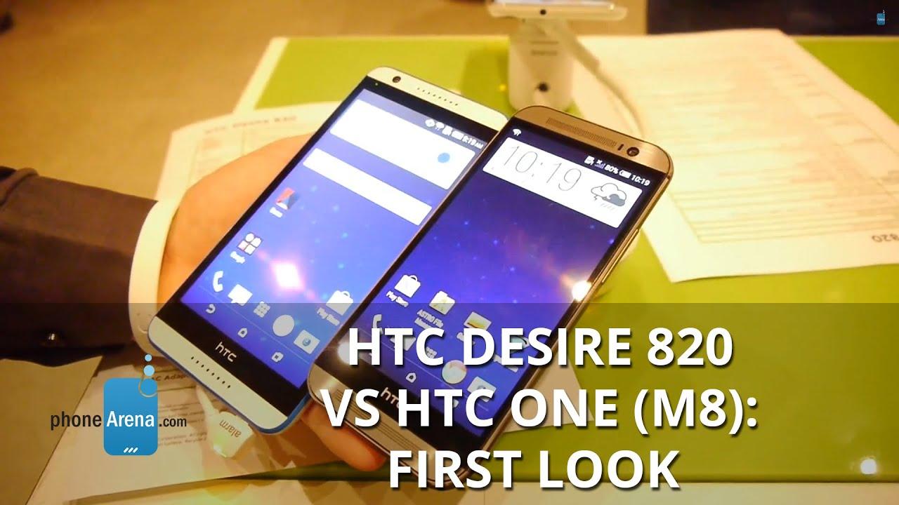 HTC Desire 820 vs HTC One (M8): first look | PhoneArena