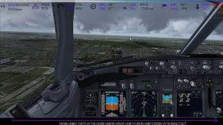 [FSX] [IVAO] BOEING 737-800   Barcelona ✈ Amsterdam   Descida/Pouso