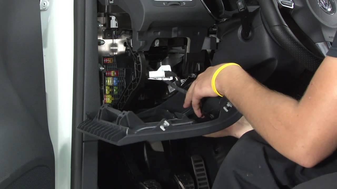 2006 Vw Passat Ac Wiring Ecs Tuning Mkvi Golf Gti Dashboard Cubby Installation