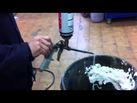 Espuma poliuretano pistolable youtube - Poliuretano en spray ...