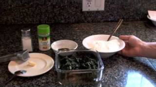 Spinach And Yogurt Dip Recipe