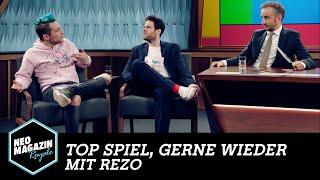 Top Spiel, gerne wieder! mit Rezo | NEO MAGAZIN ROYALE mit Jan Böhmermann - ZDFneo