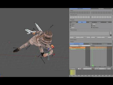 3D Game Animation Method