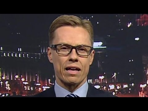 Alexander Stubb on Syria, refugees and Europe