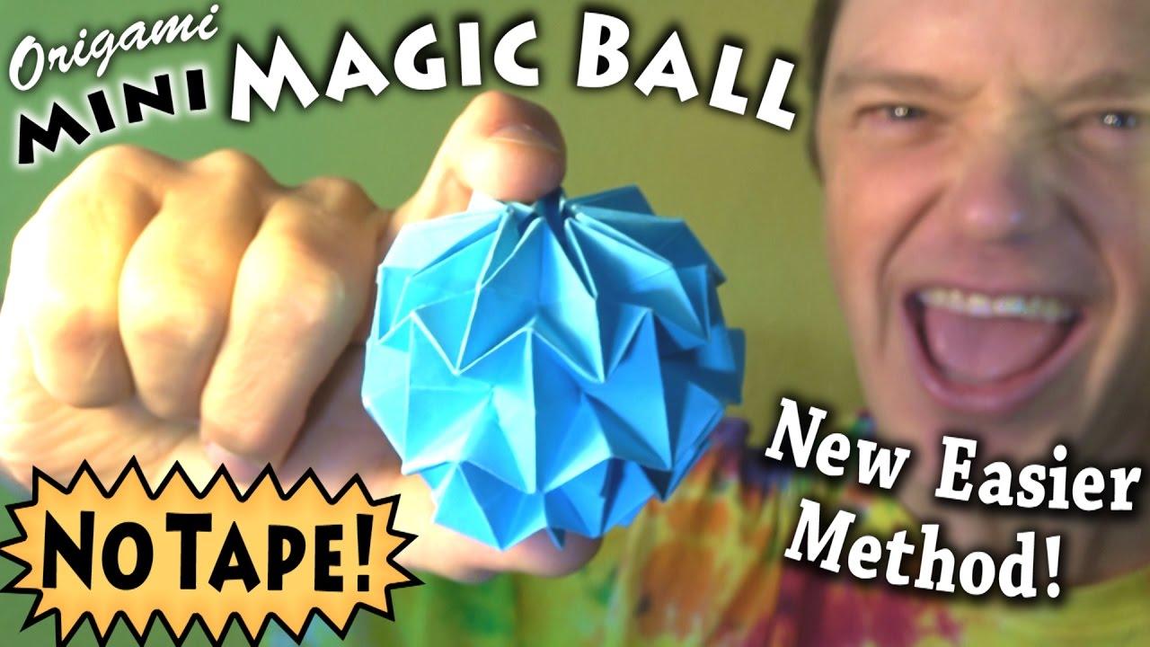 DIY ORIGAMI MAGIC BALL LAMP - HANDMADE Kultur | 720x1280